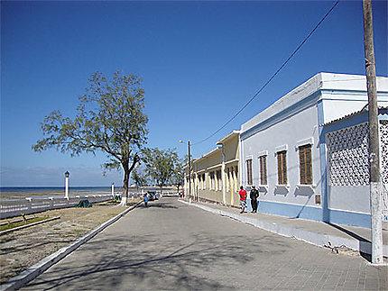 Front de mer de l'Île de Mozambique