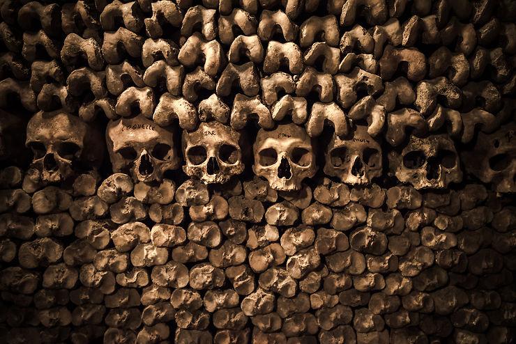 Catacombes, crypte archéologique et égouts de Paris, carrières de Montmartre - Paris