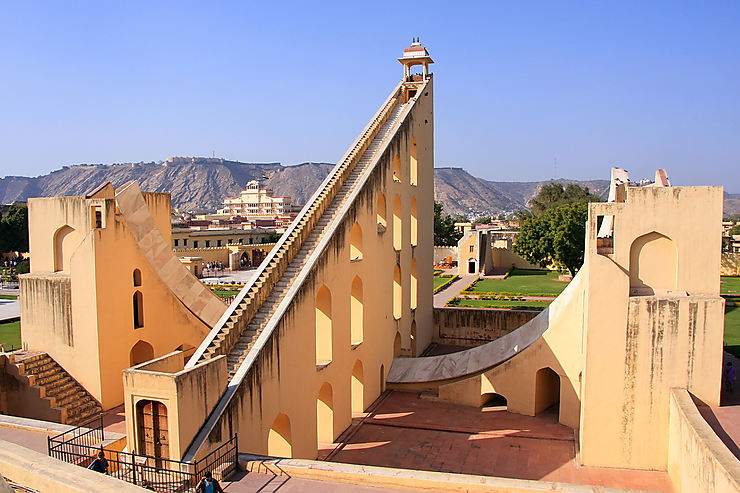 Rajasthan - Un observatoire astronomique classé à l'Unesco à Jaipur