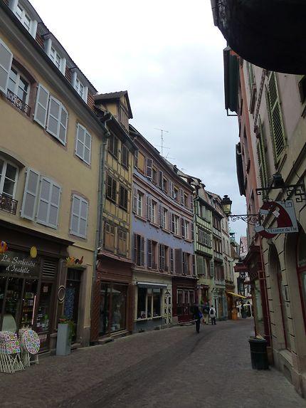 Rue piétonne de Colmar