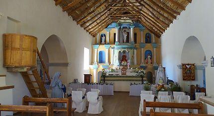 L'église au toit de cactus