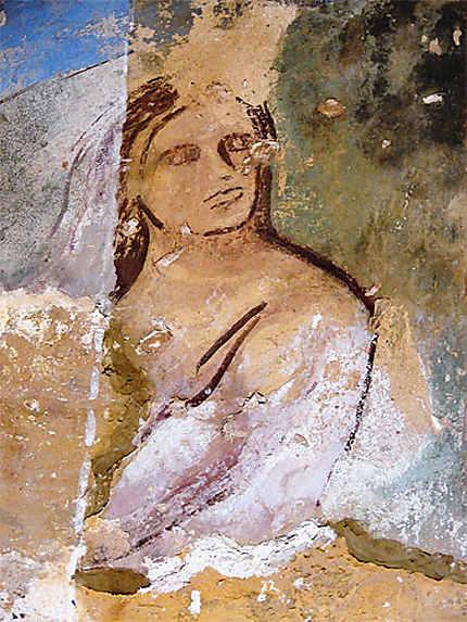 Fresques, détail