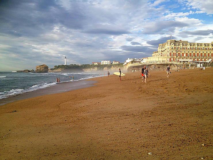 Biarritz, l'air du large