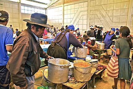 Le restaurant du marché