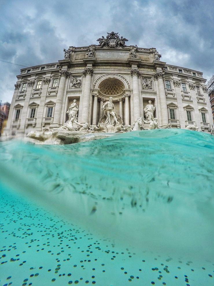 Fontaine de Trevi, Rome, par antonellaspaltro