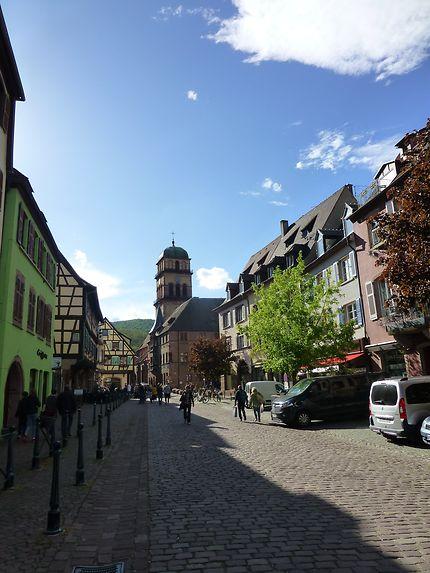Rue principale de Kaysersberg, Alsace