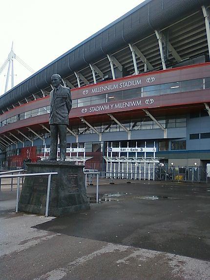 Statue du Millenium Stadium