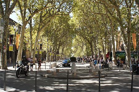 Cours Mirabeau, Aix-En-Provence, Bouches-Du-Rhone
