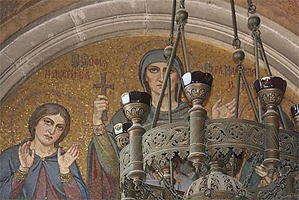 Mosaïques de la cathédrale Saint-Alexandre-Nevski
