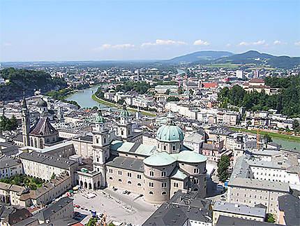 Salzbourg vue générale