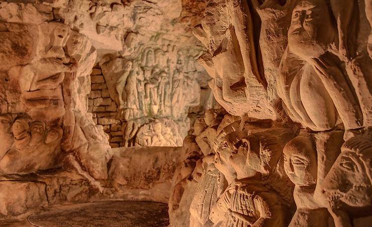 La Cave aux sculptures de Dénezé-sous-Doué - Maine-et-Loire