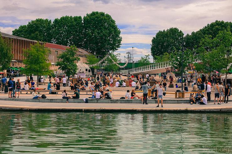 L'été du canal, festival de l'Ourcq sur le canal de l'Ourcq