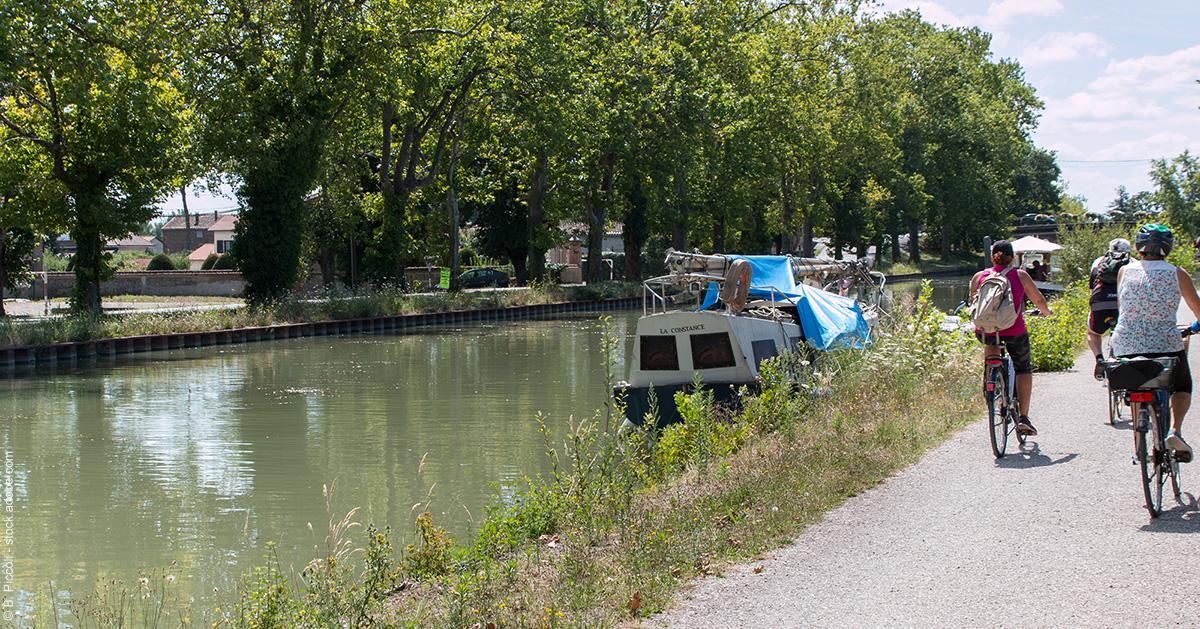 Le canal des Deux-Mers à vélo, de Montauban à Royan :