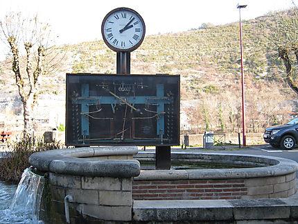 Horloge monumentale à billes
