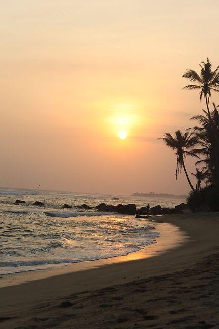 Admirer un coucher de soleil