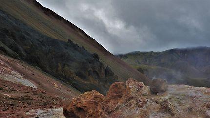 Au cœur d'un ancien volcan