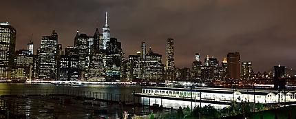 La skyline de Manhattan depuis Brooklyn