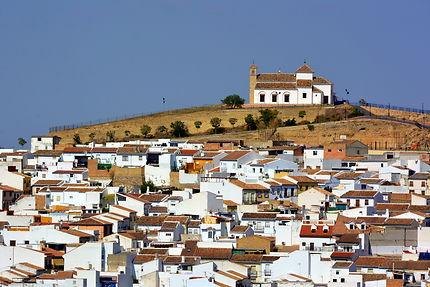 Le jolie village d'Antequera