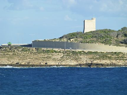 La tour surveille la 4 voies