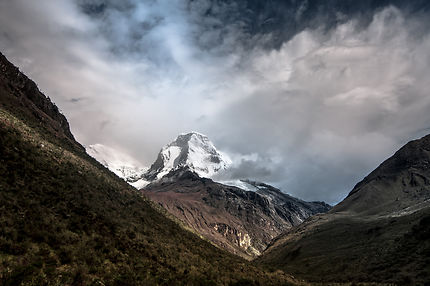"Artesonraju, the ""Paramount Mountain"""