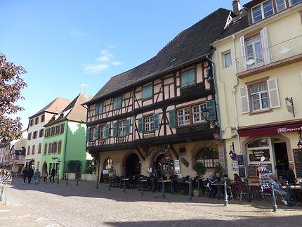 Maisons anciennes à Kaysersberg