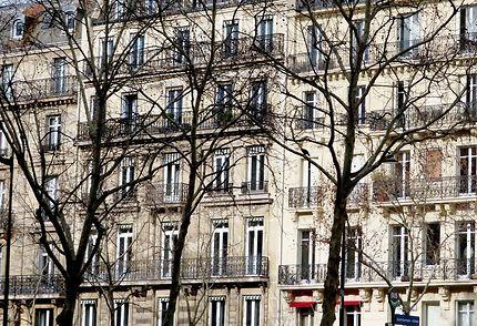 Façades d'immeubles boulevard St-Germain