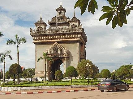 Arc de triomphe de Patuxai