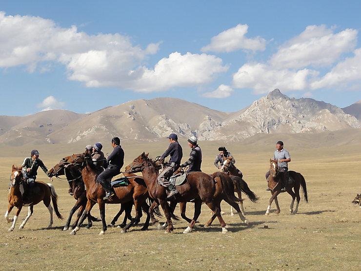 Jeu au Kirghizistan
