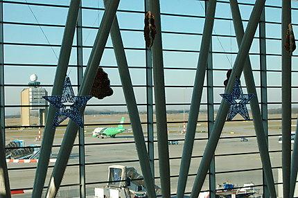 L'aéroport de Budapest lors des fêtes