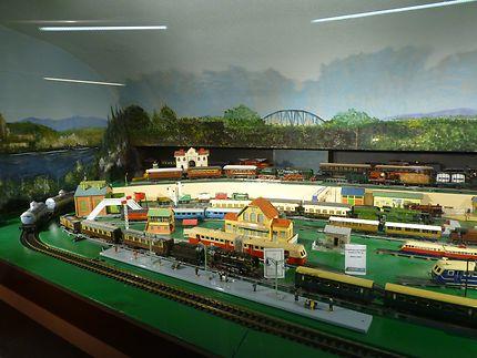 Scènes ferroviaires au musée du jouet de Colmar