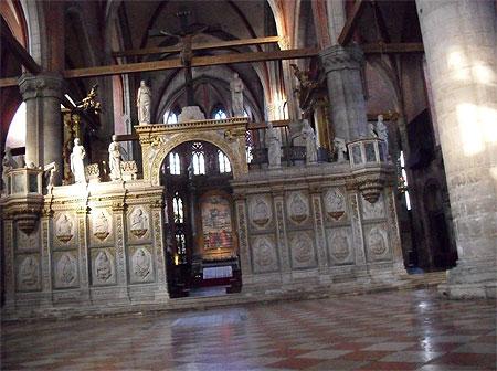 Chiesa dei Frari : intérieur