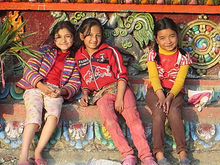 Fillettes à Gangtok