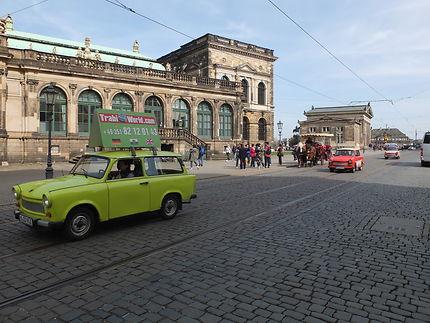 Trabant à Dresde