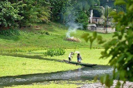 La rivière de Pagsanjan