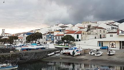 Le port de Vila Franca do Campo