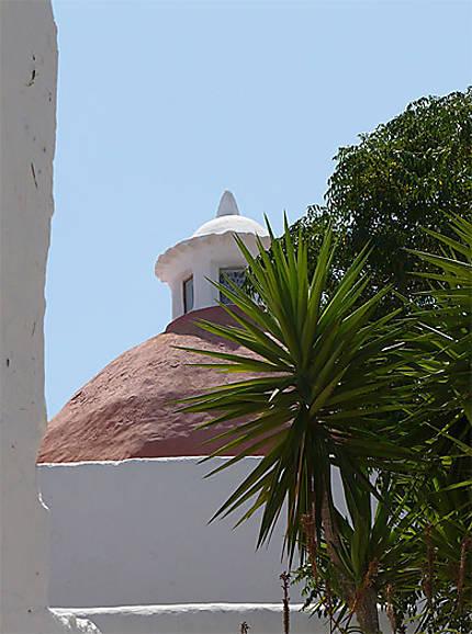 L'église de Santa Eularia des Riu