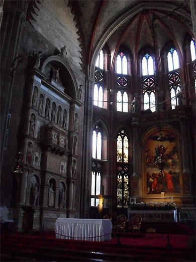 Chiesa dei Frari : le choeur