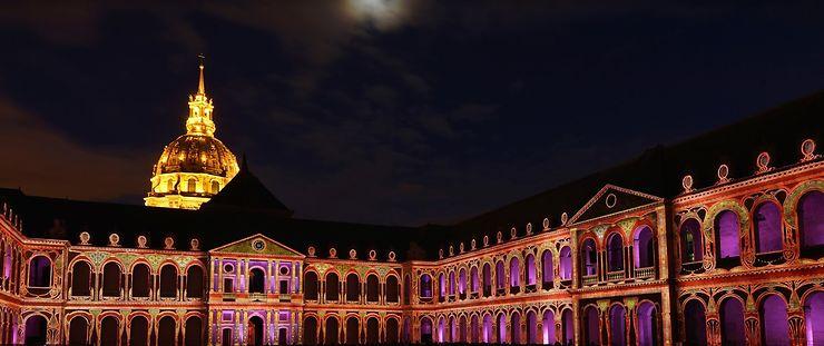 La Nuit aux Invalides à Paris