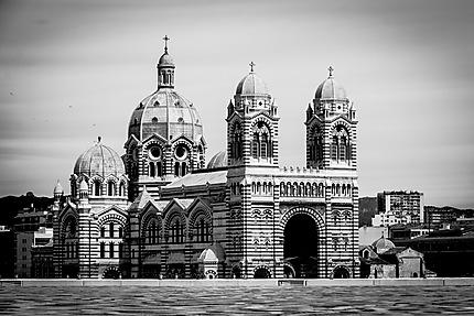 Marseille - La Major depuis le Mucem