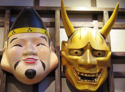 Masques démons (kabuki), Tokyo