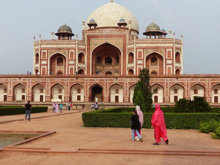 Tombe de l'empereur Humayun, Delhi, Inde