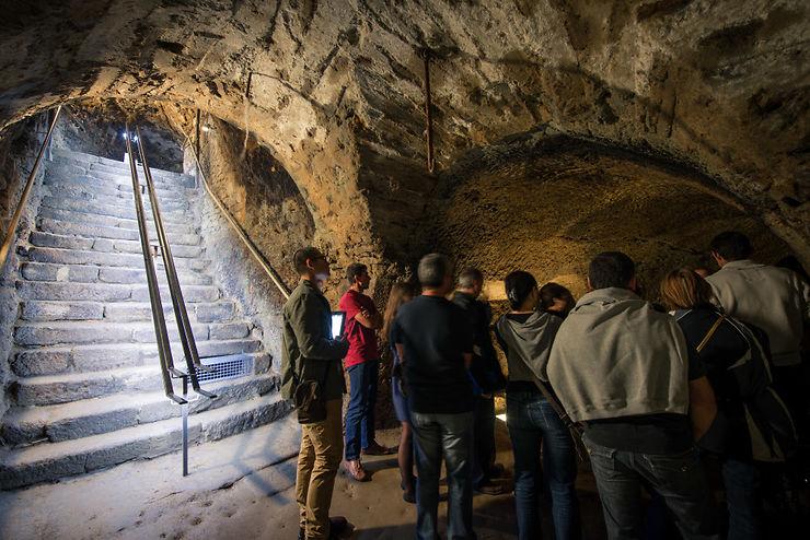 Le souterrain de la Règle à Limoges  - Haute-Vienne