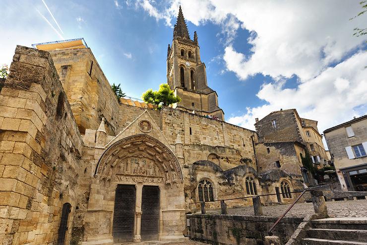 Église monolithe de Saint-Émilion - Gironde