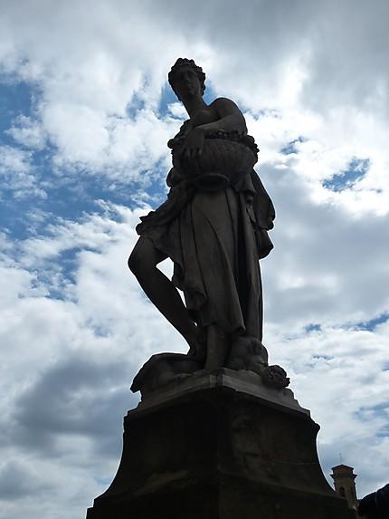 Statue du Ponte Santa Trinita