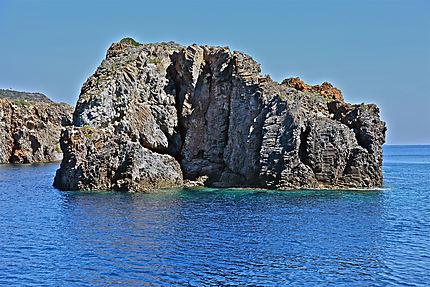 Les abords de l'île de Panarea