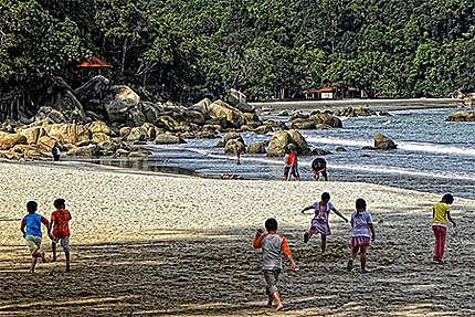 Kids à Teluk Shempedak