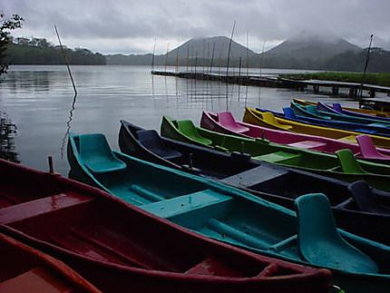 couleurs au bord de l'eau