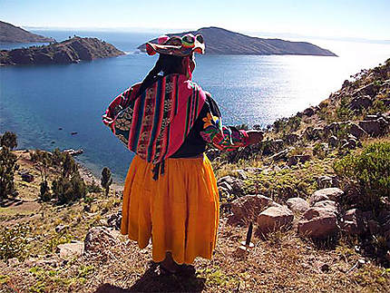 lac titicaca photo - Photo