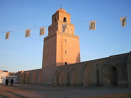 Kairouan - la Grande Mosquée et son minaret