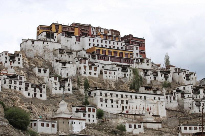 Monastère de Thiksé (Thiksey Gompa) - Ladakh